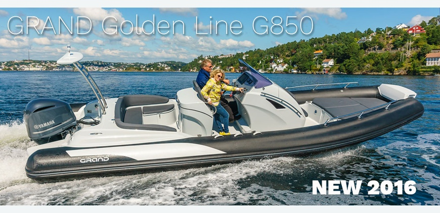 GRAND Golden Line G850 - New model for season 2016